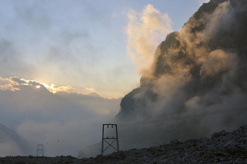 Dal Rifugio Alimonta - Vedretta degli Sfulmini, Trento, Italy - August 18, 2012