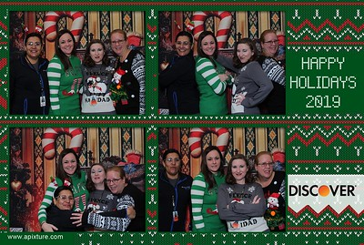 Discover Card Ugly Sweater 2019