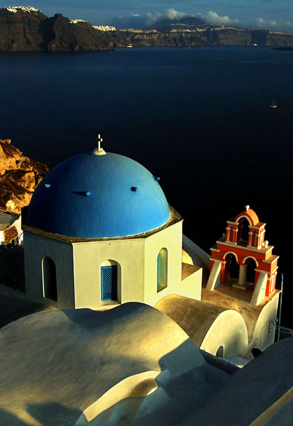 Church on the Caldera, Oia, Santorini
