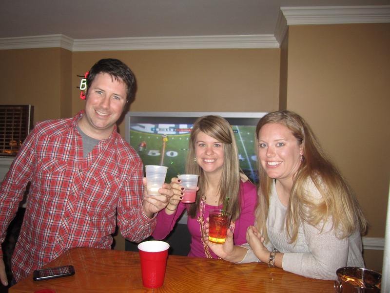 Preston, Jen, Lauren