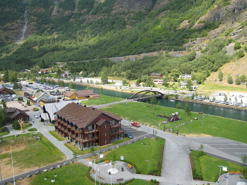 Flam from the ship