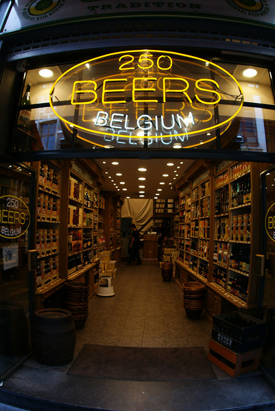 Belgium is famous for the beer….  I sampled them all.