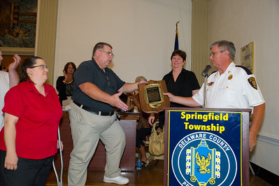 Springfield Twp. Honors Edward Williams