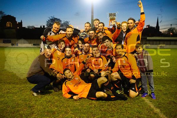 Wheatley Cup Final  F.C. Gawthorpe v Lower Hopton