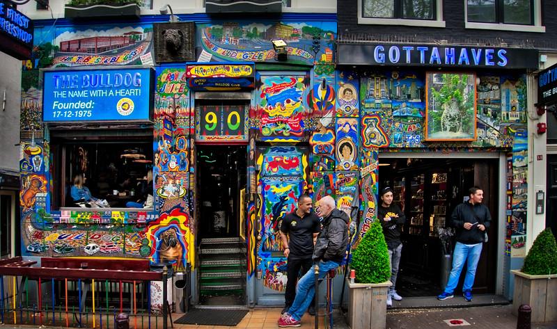 I Like How Everyone In Amsterdam Looks Like A Drug Dealer