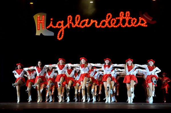 2013: Highlandette Revue - Parent Preview - April 18