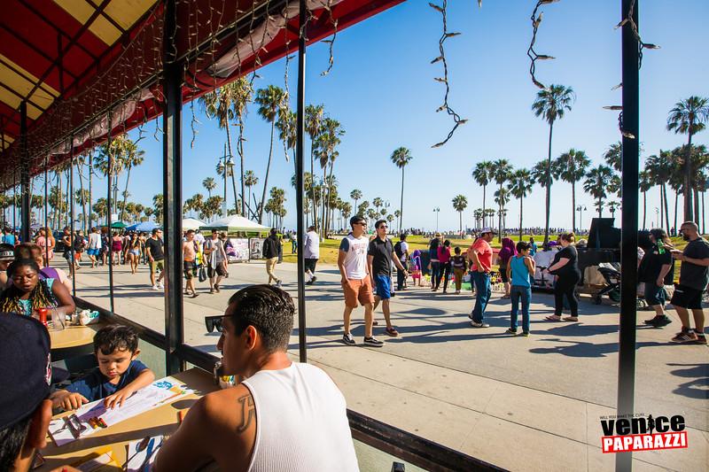 2017 Venice Beach Neptune Festival.  Photo sponsored by The Sidewalk Cafe.  Photo by VenicePaparazzi.com.  #VeniceBeachFun