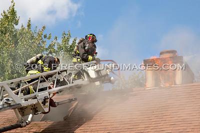 Niantic Lane Fire (Stratford, CT) 8/15/13