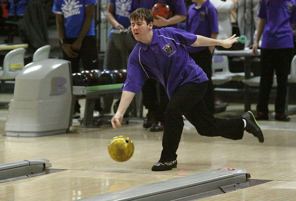 Falcon Bowlers vs Carteret, Jan 13, 2014