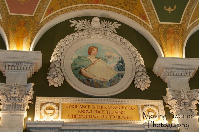 Library of Congress - detail in Great Hall