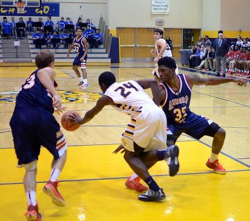 Boys Basketball: West Aurora at Neuqua Valley 12/19/2014