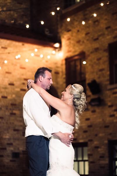 Nighttime Wedding Photos