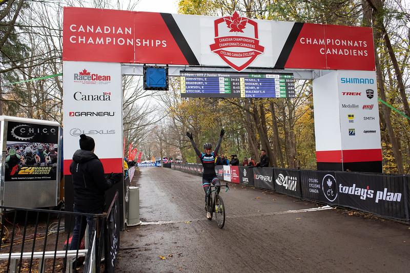 Sidney McGill (AB) Pedalhead Race Room - Canadian Champion U23 Women