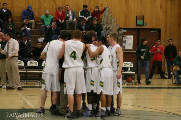 Concord High School Basketball 2/13/09