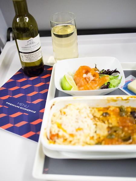Air France Premium economy meal.jpg