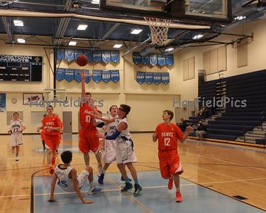 Boys Basketball Frosh Yorktown 1/14/14