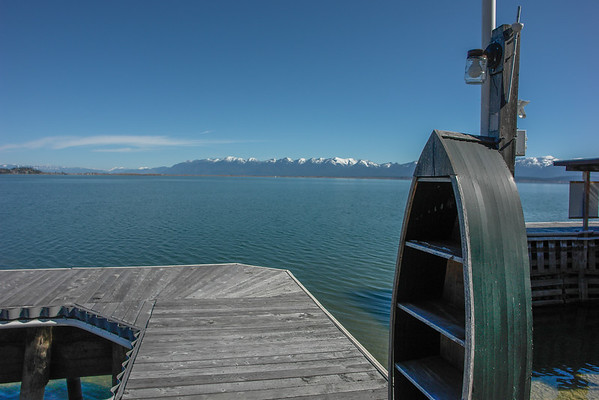 Steve and Judy Parkers New Home on Flathead Lake