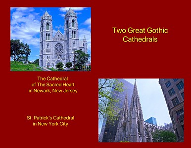 Comparison of Two Great Gothic Cathedrals