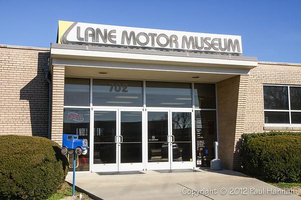 Lane Auto Museum - Nashville, TN