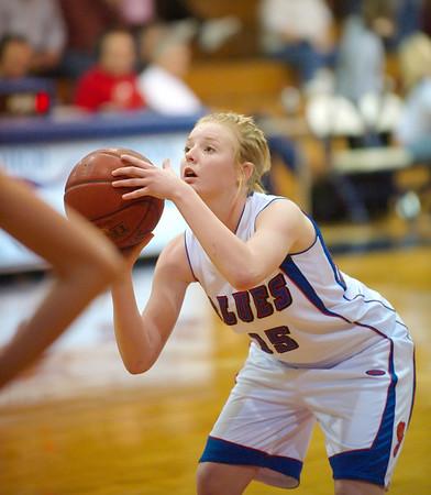 2008-2009 Lady Blues Basketball