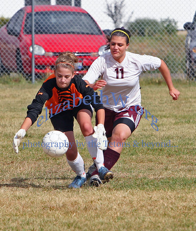 Teton Valley Girls Soccer #5 vs. Snake River