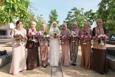 Bride's Arrival