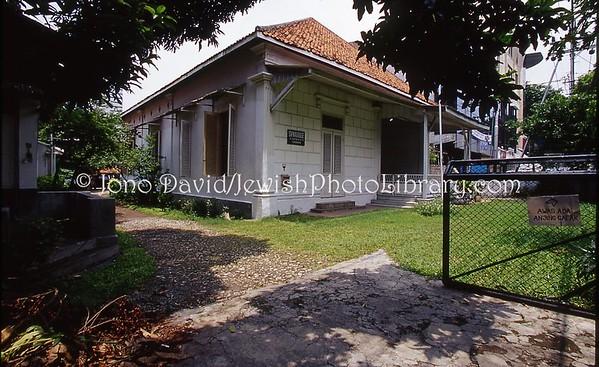 INDONESIA, Surabaya. Temple Beth Shalom, Surabaya Synagogue (2007); destroyed May 2013.