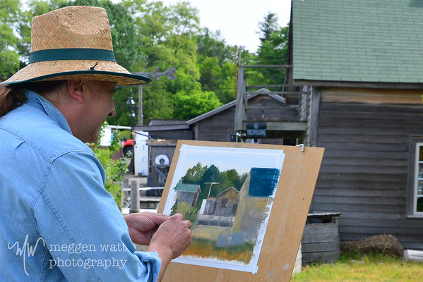 Fishtown Plein Air June 2013