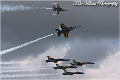 Blue Angels At NAS Jacksonville 2010