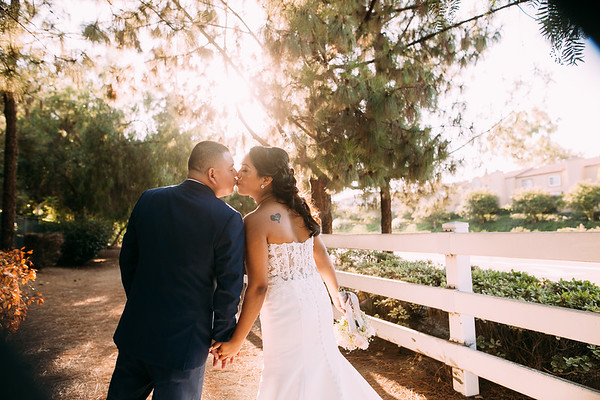 Elizabeth and Ricky - Coyote HIlls Fullerton Wedding
