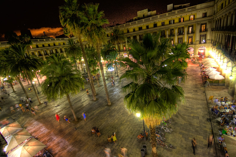 Plaza Real gets Tonemapped!