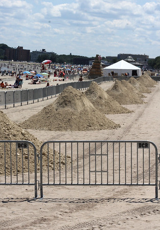 Revere Beach Sand Sculptures