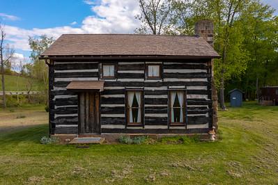 Pike Township 1800's Log Cabin