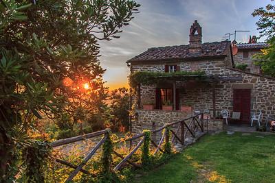 Cortona, Arezzo, Montepulciano & Poppies- 2017