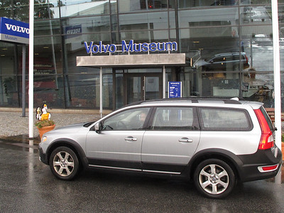 Part XXI. The Volvo Museum in Gothenburg...then.. .airplane and Moose.