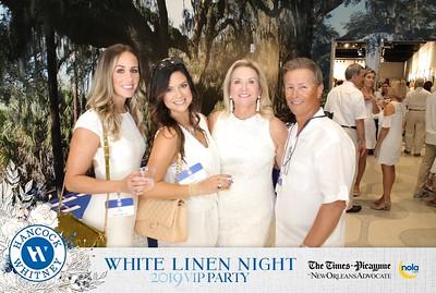 Hancock Whitney White Linen Night 8.3.19 @ The Advocate Building