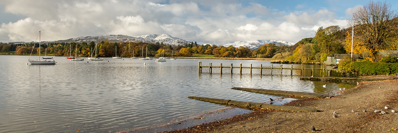 Windermere lake at Ambleside Pier