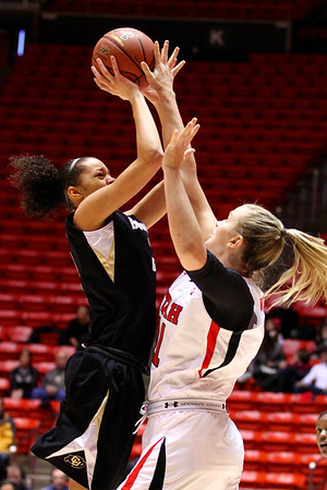 U of U WBB vs Colorado 1-13-2012