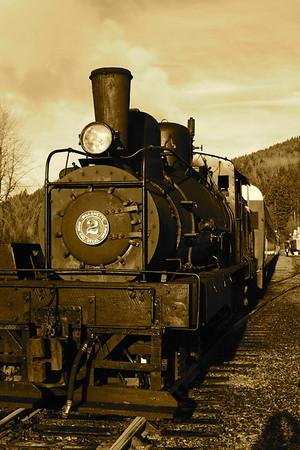 101203 Rainier Steam Locomotive Ride In Niqually Valley