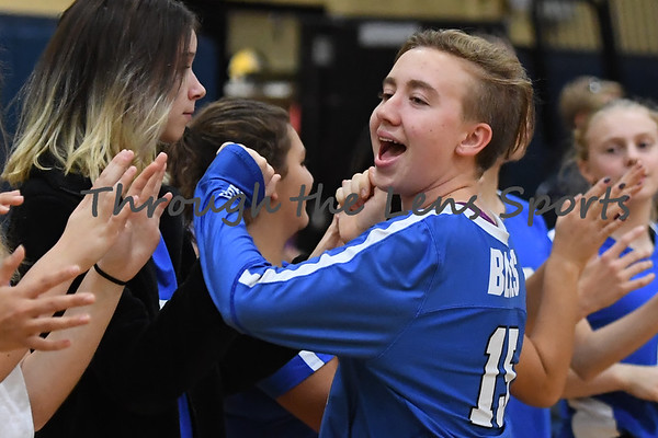Canby vs. St. Marys HS Volleyball