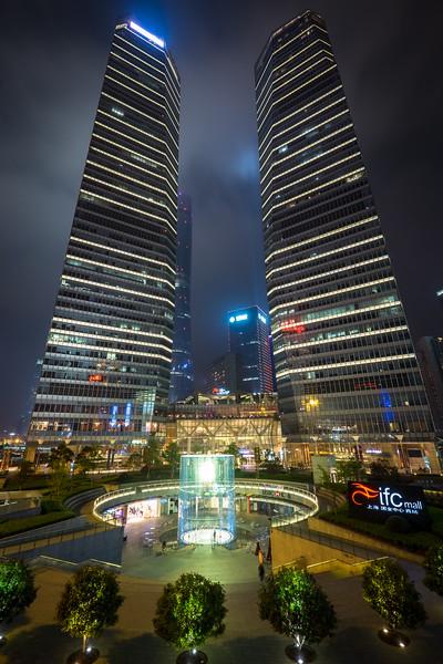 Towers, Shanghai