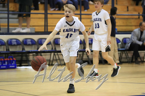 BOYS MS BASKETBALL vs HP CHRISTIAN 02-06-2019