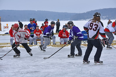 Wally Ice Fest Pond Hockey Tournament 2018