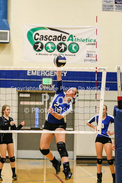 2015 Varsity VB SW vs Cedarcrest