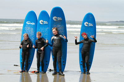 Surfing lessons (Long Beach)