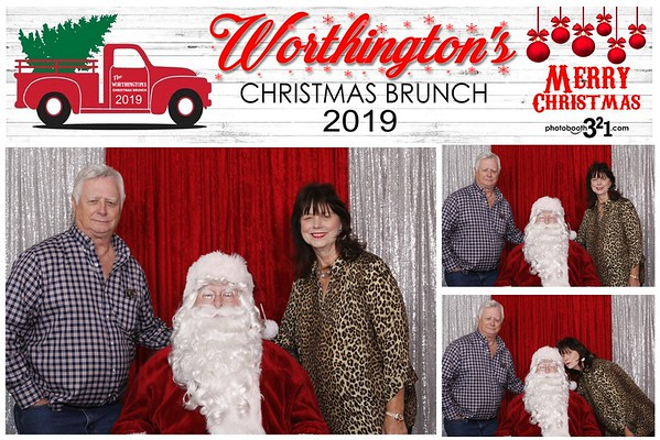Worthington's Christmas Brunch 2019