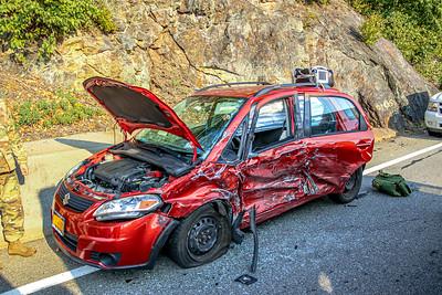 9-22-2020 MVA With Injuries, Bear Mountain Bridge Road