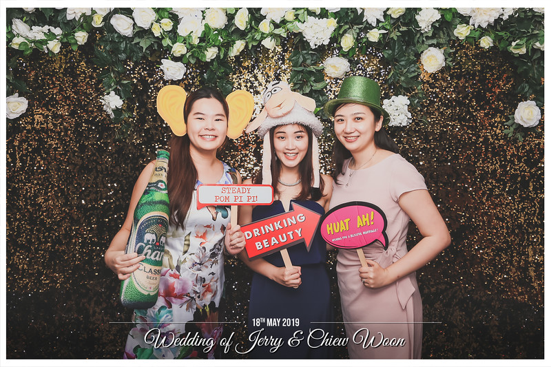 Wedding of Jerry & Chiew Woon   © www.SRSLYPhotobooth.sg