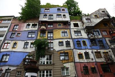 Friedensreich Hundertwasser, Kunsthaus, Vienna