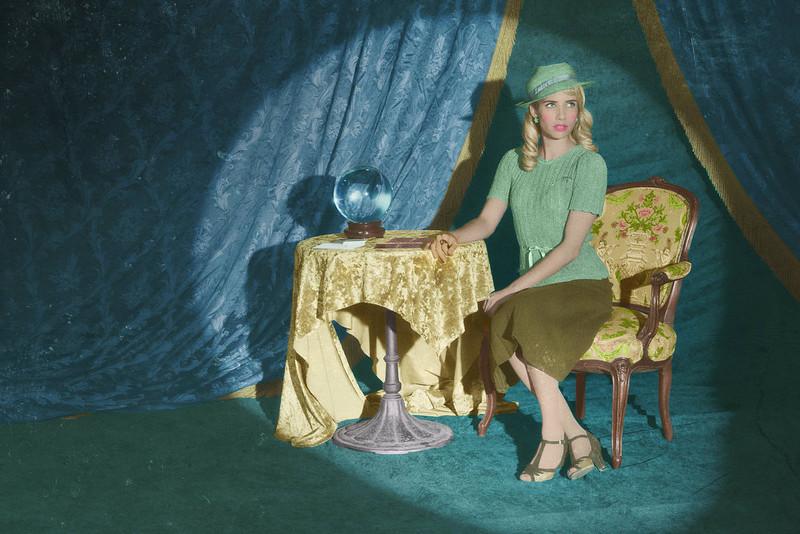 ". Emma Roberts as Maggie Esmerelda in FX\'s \""American Horror Story.\"" (Photo by Frank Ockenfels/FX)"